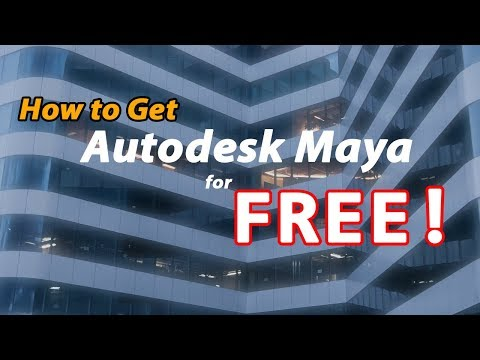 How To Get Autodesk Maya For Free!