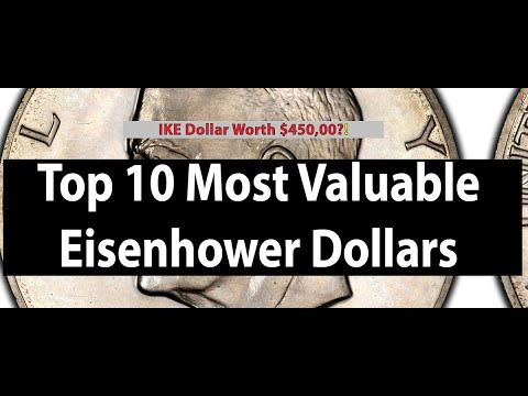 Top 10 Eisenhower Dollars The Most Valuable Ike Dollar Coins Known