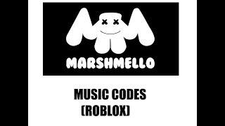 Marshmello ROBLOX códigos musicais (WORKING)