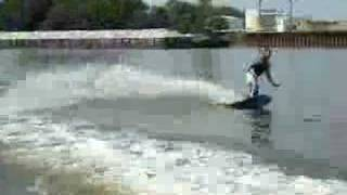 Wakeboard Air and wipeout