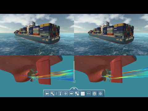Van der Velden Marine Systems - 3D presentation - Integrated Manoeuvring Technology