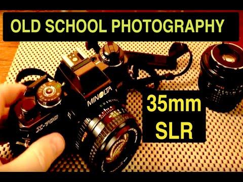 35mm Minolta X-700 SLR Film Camera (ASMR)