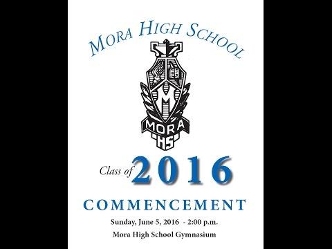 Mora High School Graduation