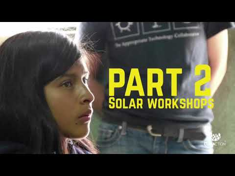 Solar workshop Mayan Power and light in Guatemala