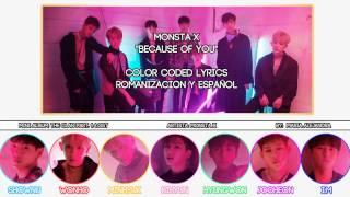 Artista: monsta x (몬스타엑스) canción: because of you mini Álbum: the clan part. 1: lost ------------------------------------------------------------------------...