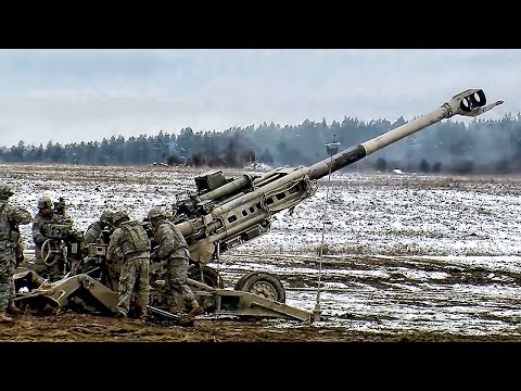 Field Artillery Troopers • Fire Mission M777
