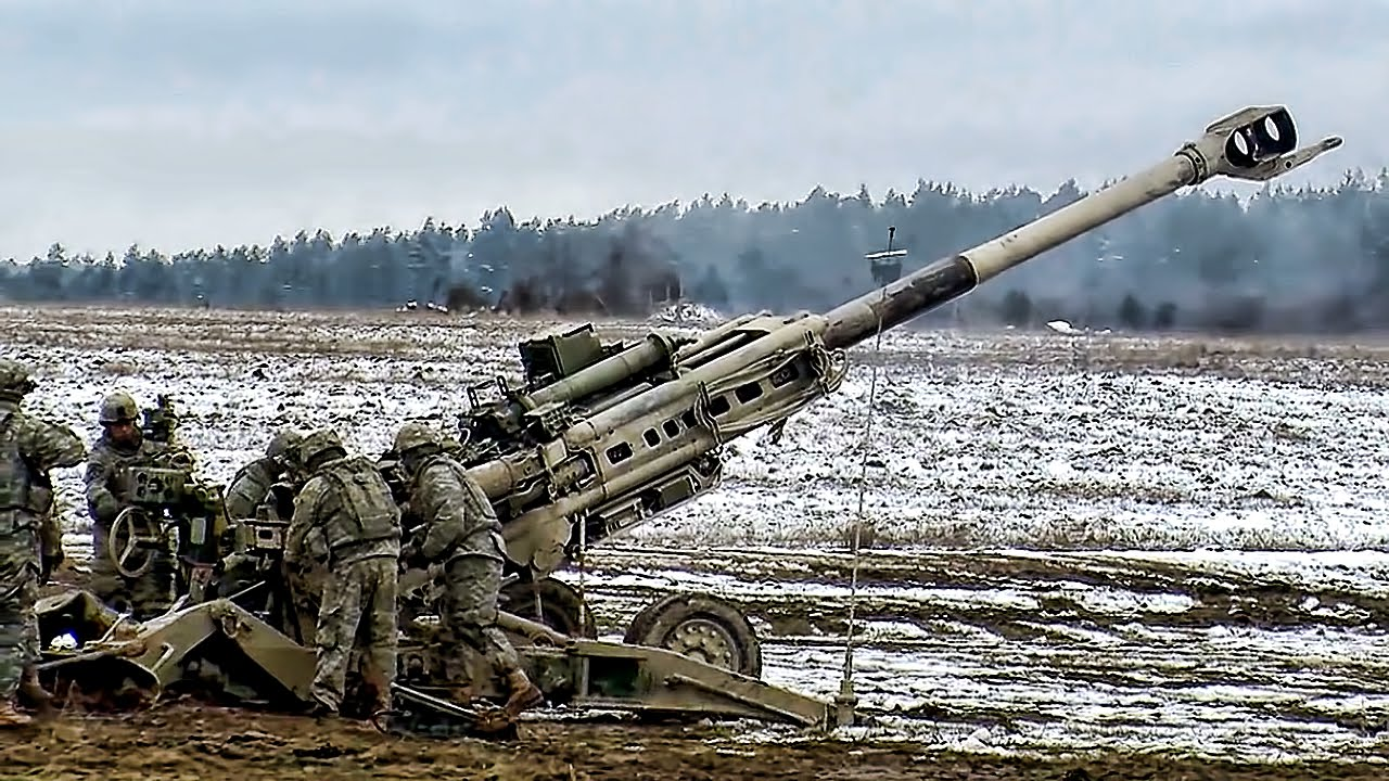 Field Artillery Troopers • Fire Mission M777 - YouTube
