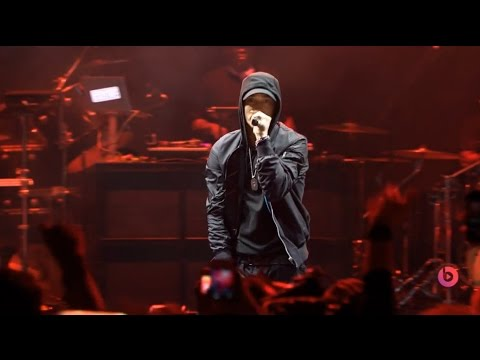 Eminem  2014 HQ at The Beats Music Event Full Performance
