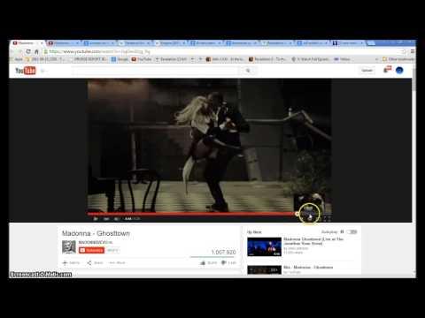 Madonna Ghost Town. Armageddon  The Woman and the Beast Illuminati Freemason Symbolism.