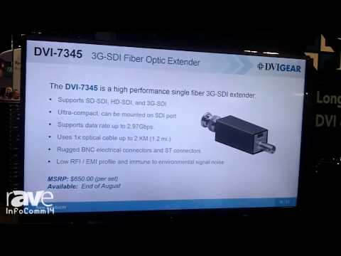 InfoComm 2014: DVIGear Intros its 4K DVI Fiber Optic Extender