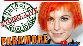 HAYLEY WILLIAMS - PARAMORE - Studio vs Live CONTROLE DE QUALIDADE - Pop Rock Punk Emo