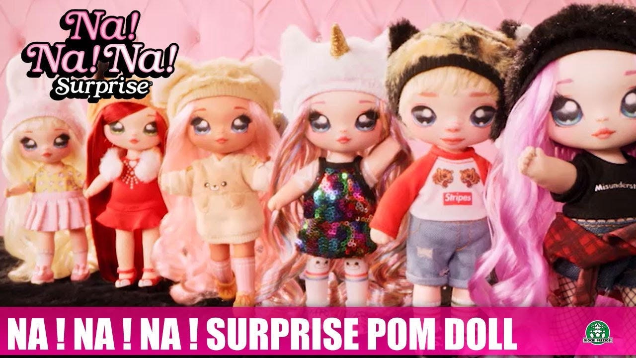 Na ! Na ! Na ! Surprise / Pom Doll / Pub TV / Giochi France