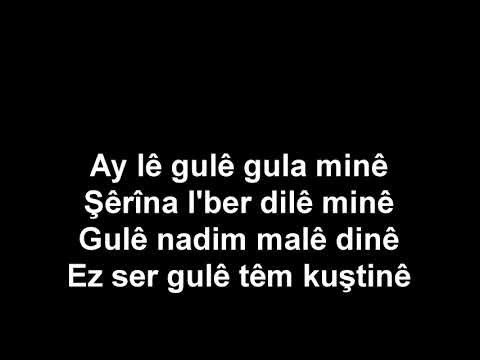 karaoke kurdi mihemed shexo ay le gule كراؤوكي كوردي محمد شيخو اي ليه كوليه