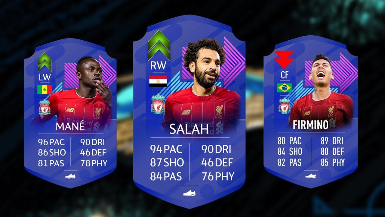 طاقات فيفا 21 | طاقات لاعبين فريق ليفربول في فيفا 21 | فخر العرب و فيرمينو الصدمة 😱