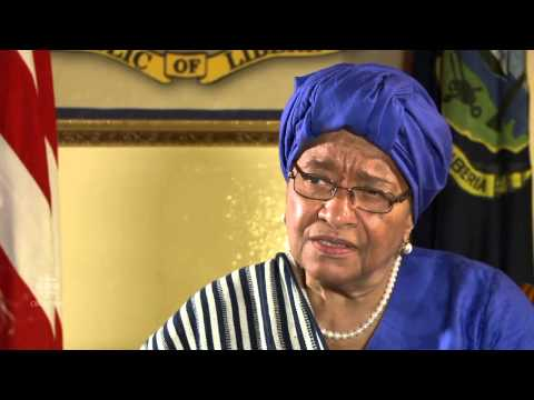 Liberia President Ellen Johnson Sirleaf exclusive interview with CBC News