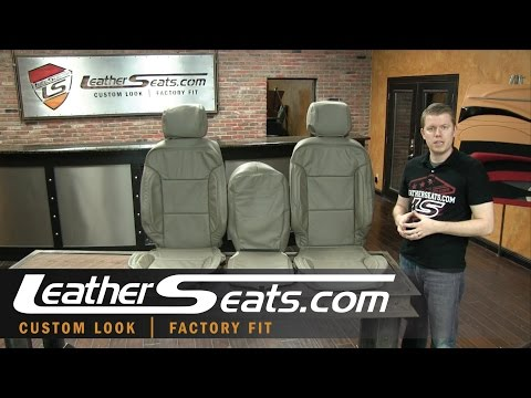 Chevrolet Silverado Crew Cab Replacement Leather Seat Interior Kit - LeatherSeats.com