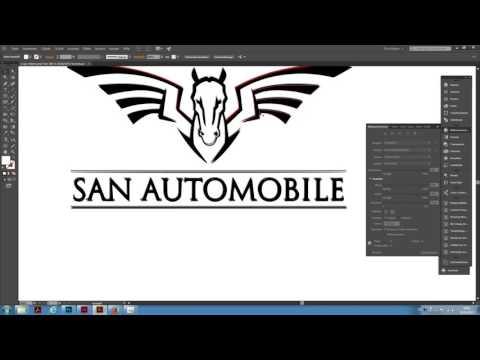 Adobe Illustrator CC: Logo schnell vektorisieren