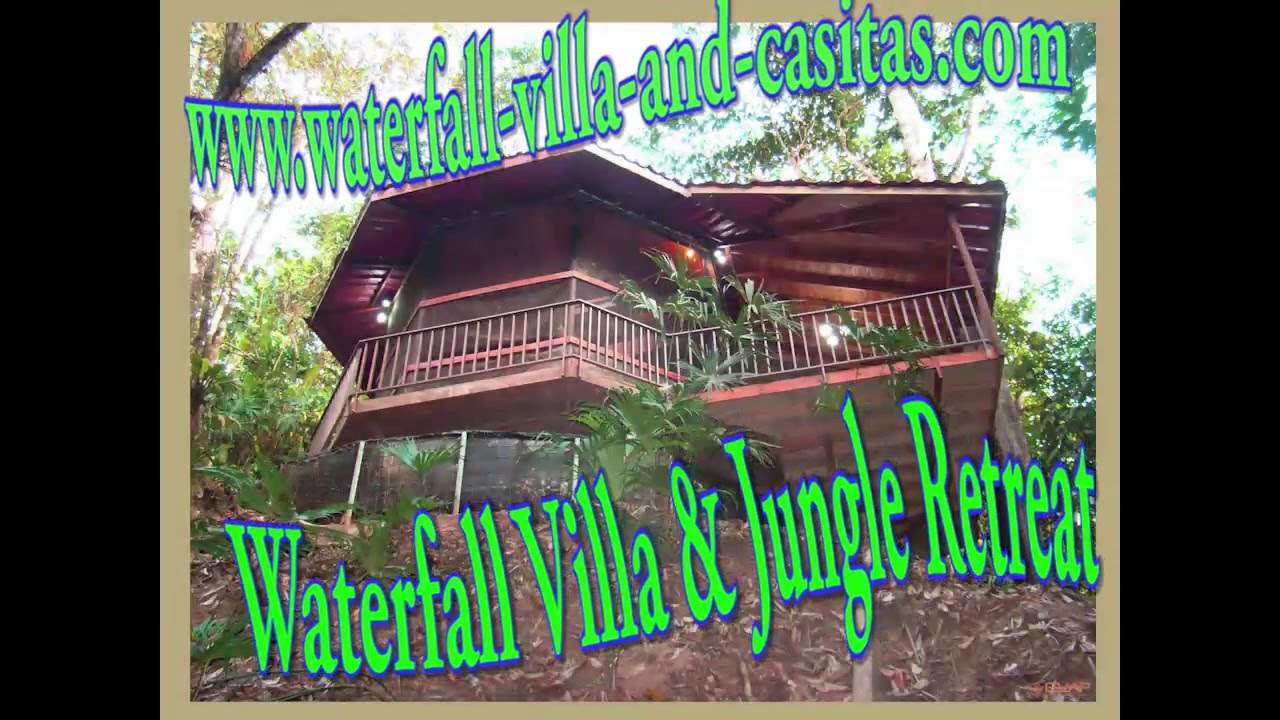 Waterfall Villa Jungle Retreat Costa Rica