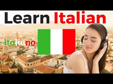 Learn Italian While You Sleep 😀 Most Important Italian Phrases And Words 😀 English/Italian (8 Hours)
