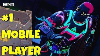 #1 Fortnite Mobile Player // Android Release? // Fortnite Season 4 Gameplay
