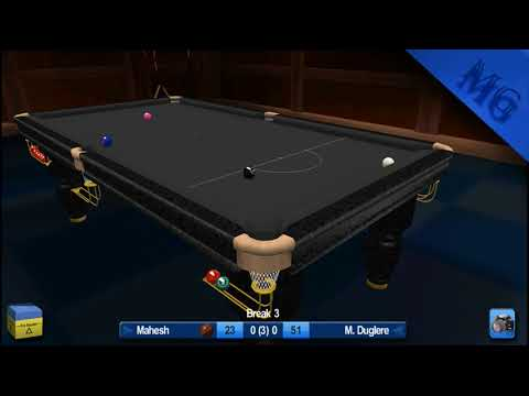 Snooker HD | Tough Match | 15 Ball Challenge | Mahesh Vs M. Duglere | 3 Frame Match