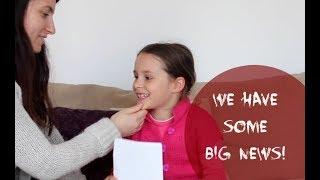 Annuncio Gravidanza - La reazione della sorellina