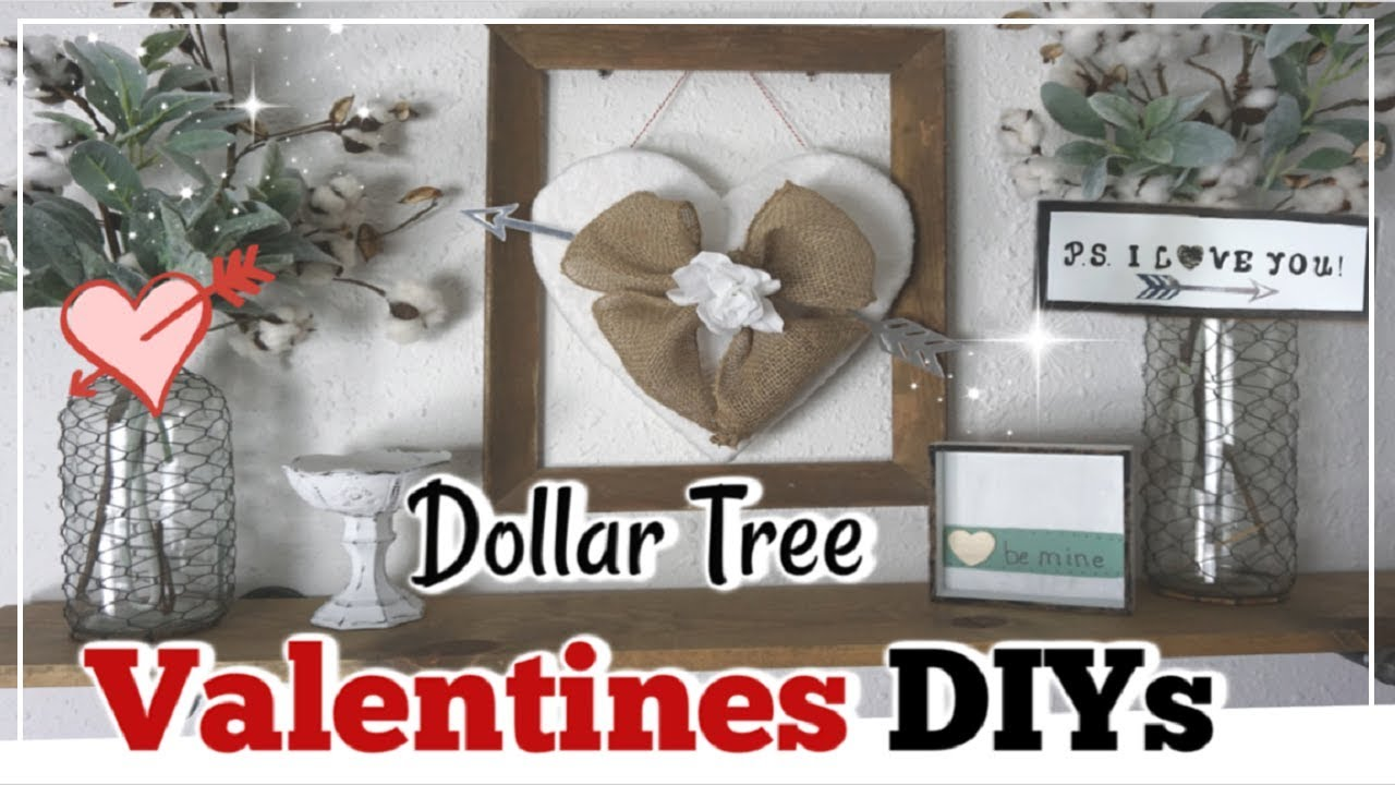 Dollar Tree Diy Farmhouse Valentines