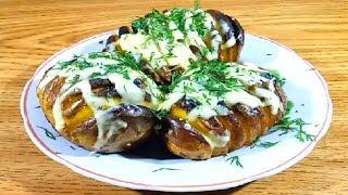 Спиральный картофель | Рецепт в духовке с сыром и чесноком.