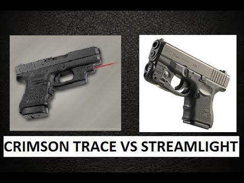 Streamlight Tlr 6 Vs Crimson Trace Laser Flashlight For
