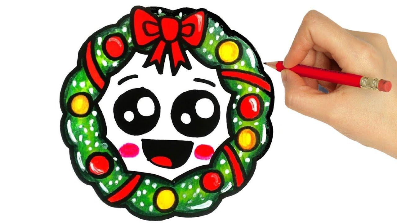 How To Draw A Christmas Ornament Como Desenhar Enfeite De Natal