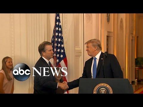 President Trump announces Brett Kavanaugh as Supreme Court pick