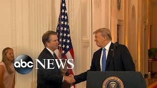 President Trump announces Brett Kavanaugh as Supreme Court pick thumbnail