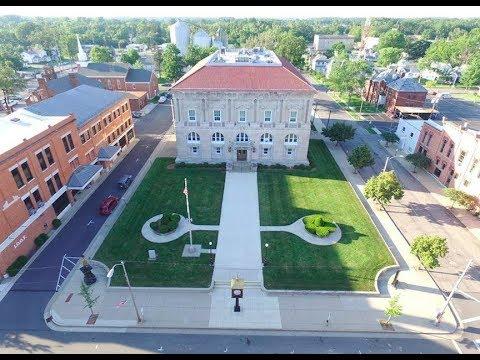 Courthouse Centennial 2013 in Ottawa, Ohio. Tour with Judge Basinger.
