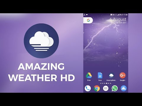 14 Live Weather Wallpaper Apps (the BEST of 2019) | Team Touch Droid