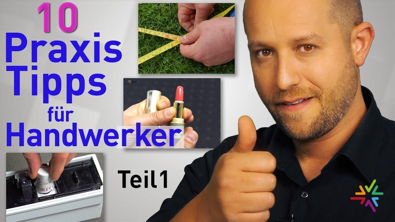Die 10 besten Praxis Tipps für Handwerker und Elektroinstallateure - Teil 1 -