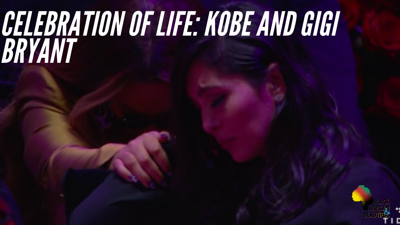 Farewell to Kobe and Gigi Bryant