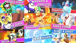 Mario + Rabbids Kingdom Battle All Bosses + All Cutscenes Movie