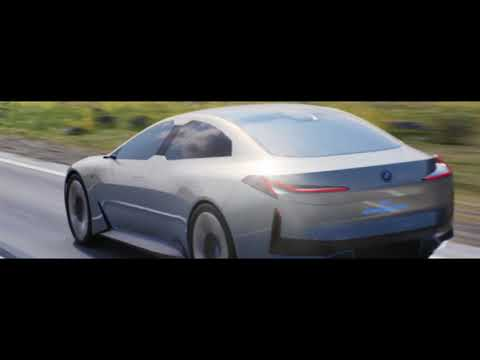 BMV i Vision Dynamics concept electric coupe