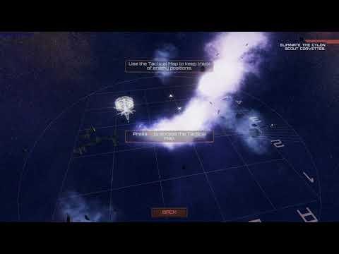 Battlestar Galactica Deadlock Armistice gameplay - GogetaSuperx |