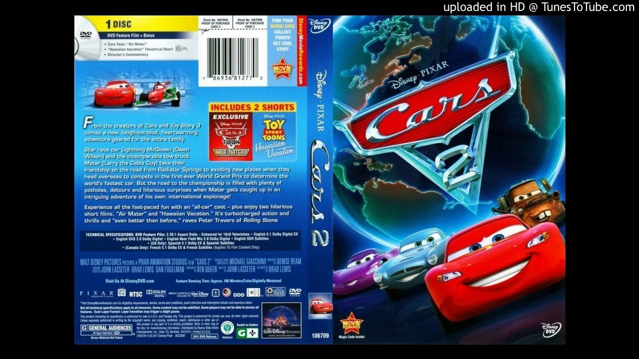 cars 2 dvd menu music youtube. Black Bedroom Furniture Sets. Home Design Ideas