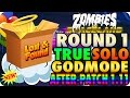 Zombies In Spaceland Glitches: True Solo GodMode Round One