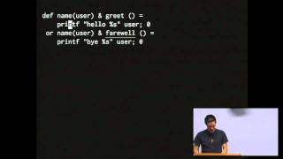 JoCaml: Concurrent Programming with the Join Calculus - Raphael Speyer