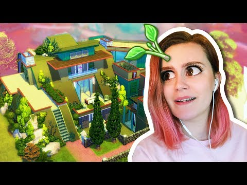 SOLID COLOUR CHALLENGE | Sims 4 Underground House