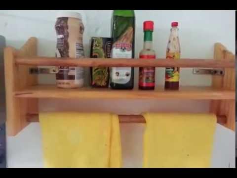 Como hacer repisa para cocina pedro aguero youtube for Como hacer una cocina de madera