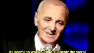 Charles Aznavour Bon Anniversaire English subtitles