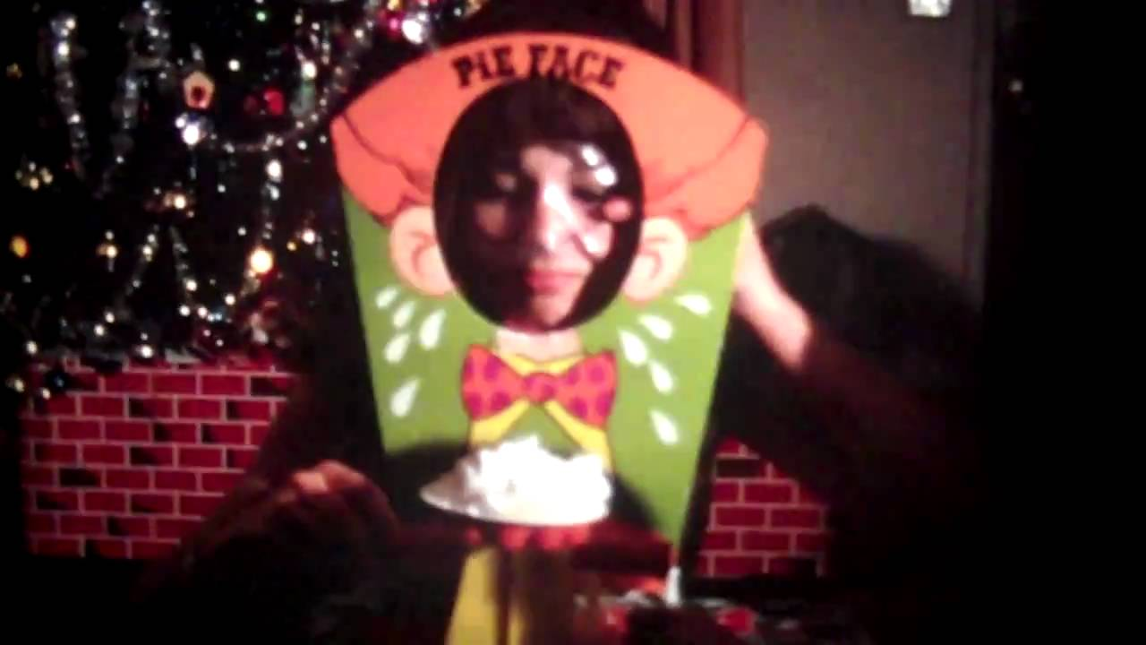 pie face holiday. xmas 1969 with vintage toys like pie face holiday 2