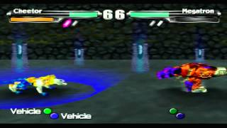 Transformers: Beast Wars Transmetals Game Sample - N64
