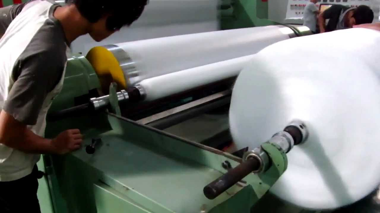 Sms Non Woven Fabric Making Machine Youtube