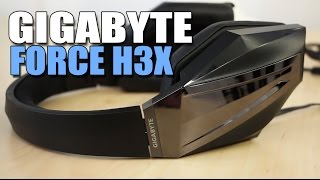 gigabyte force h3x gaming headset review and mic test