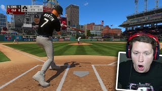 MLB 19 Road to the Show - Part 11 - FIRST MAJOR LEAGUE HOME RUN